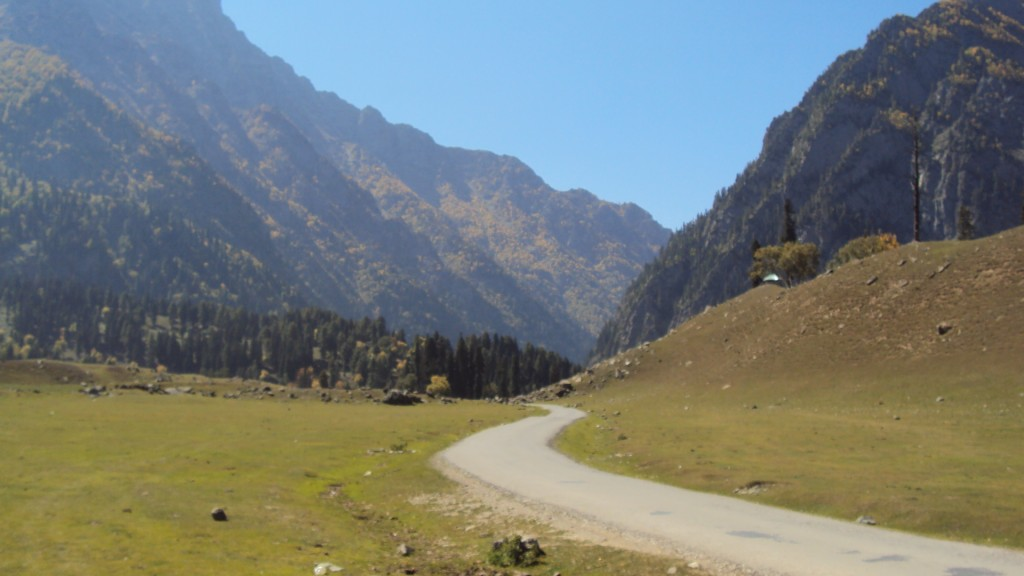 Miles to go before I sleep...  ;) Somewhere in Kashmir