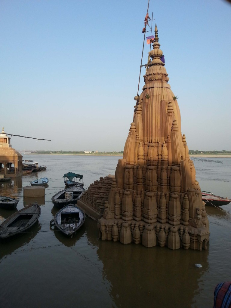 Manikarnika Submerged Temple