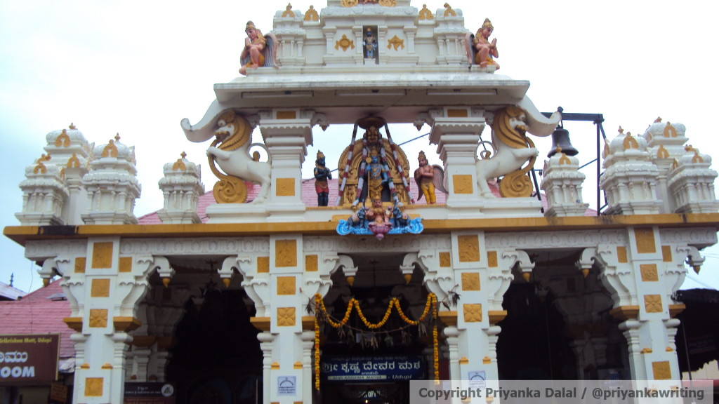 Temple Entrance...Love the yellow