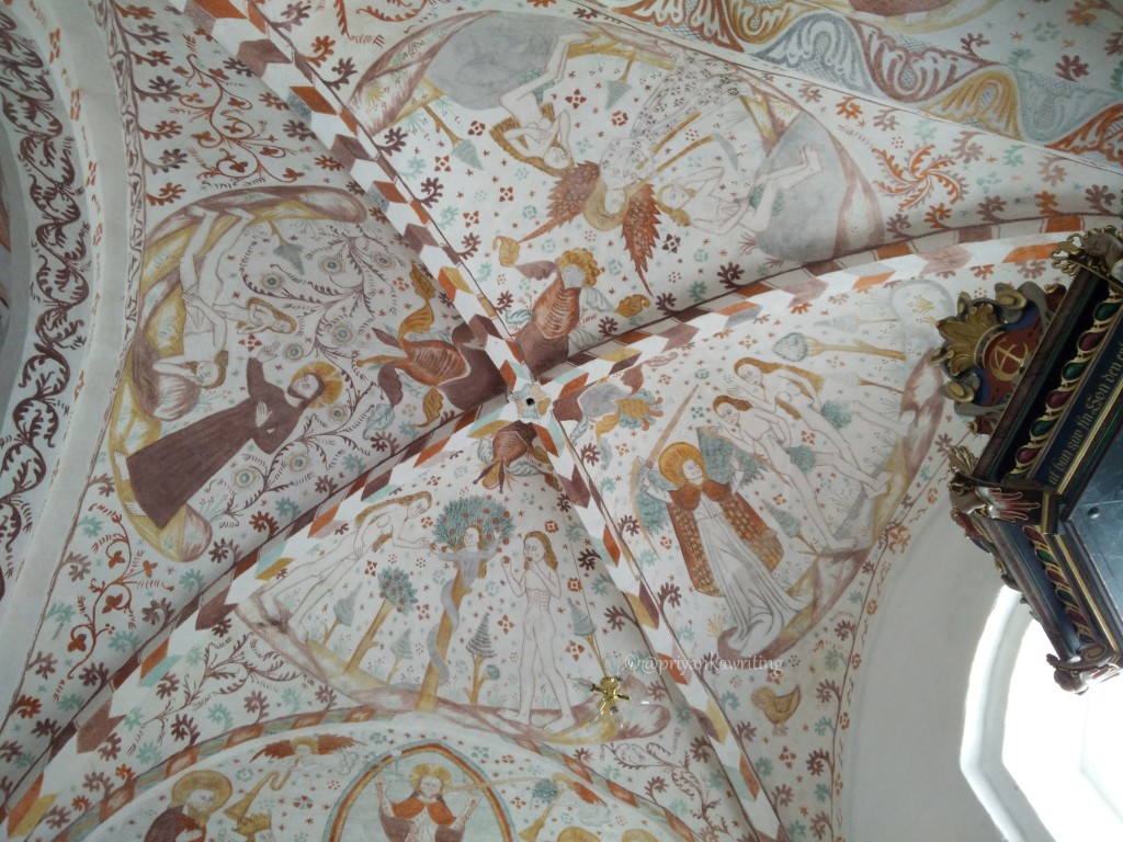 Fanefjord Church Frescoes