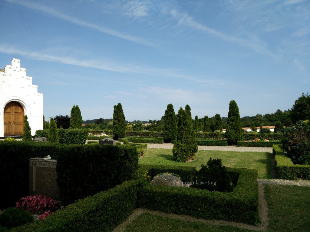 Fanefjord Church Garden