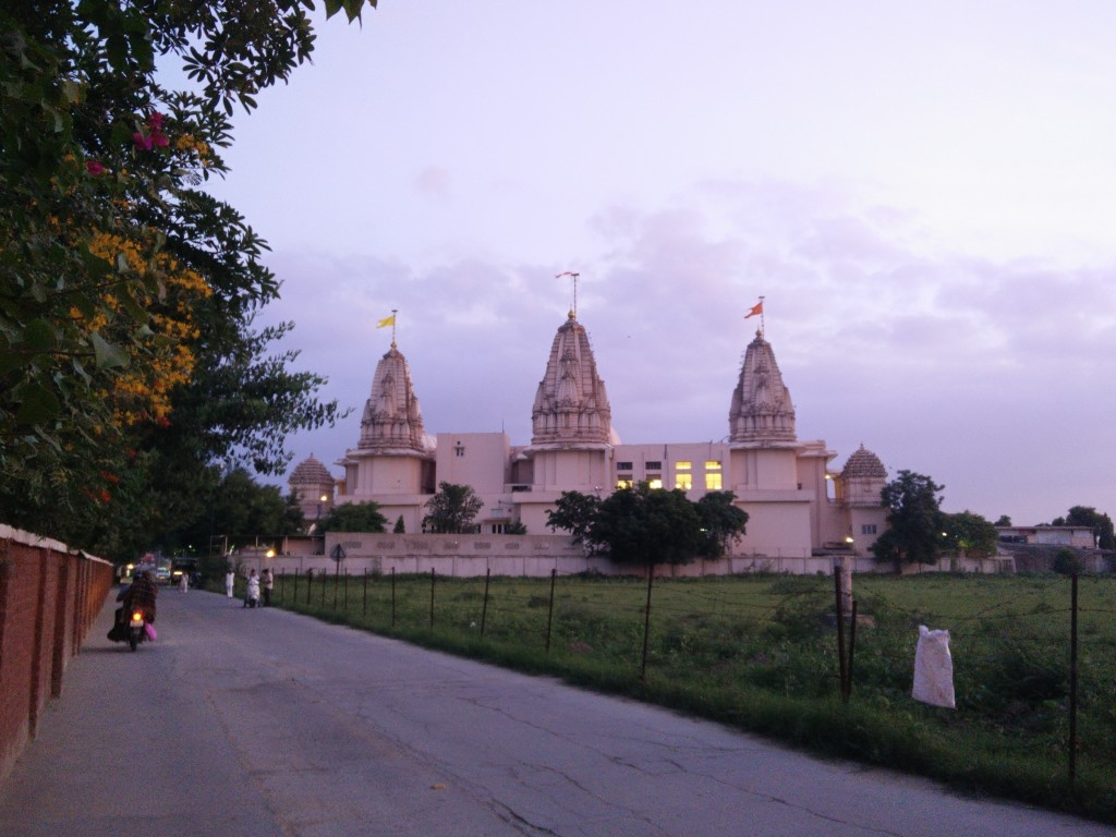 Trimandir in Twilight
