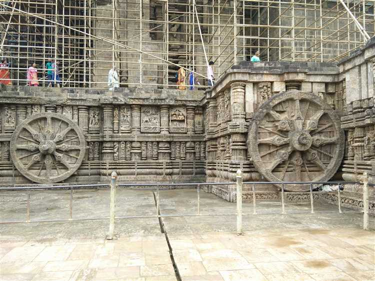 Konark Temple Wheel