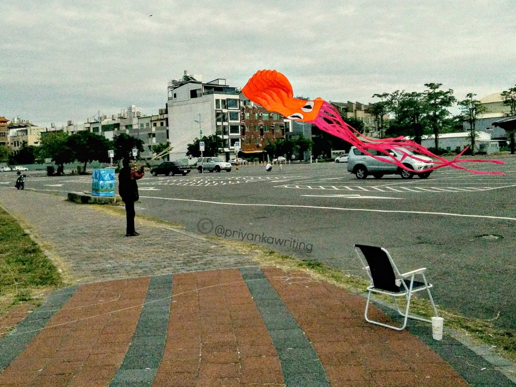Taiwan Street Photography - Anping Kite