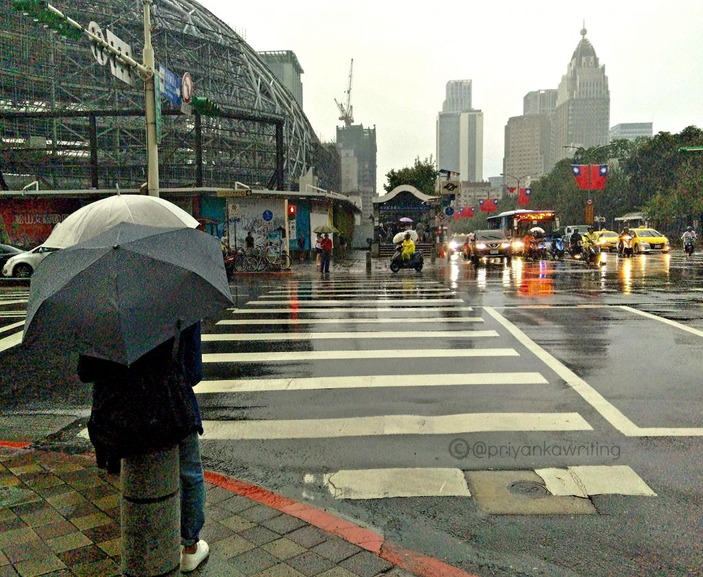 Rainy Taiwan Street Photography
