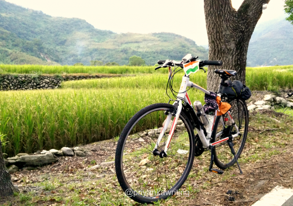 Cycling In Taiwan with My Trinx Hybrid