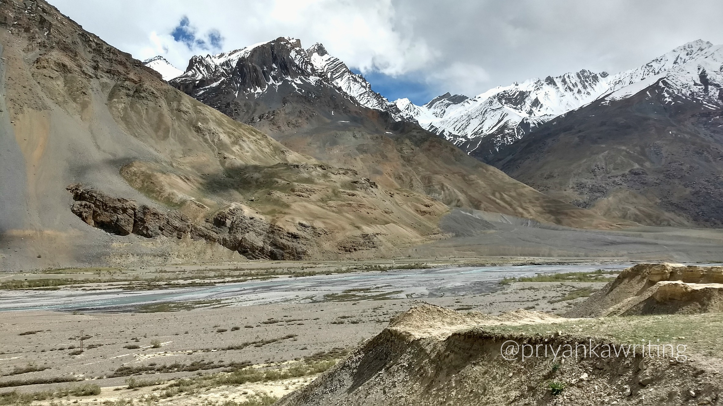 Spiti Valley High Mountains