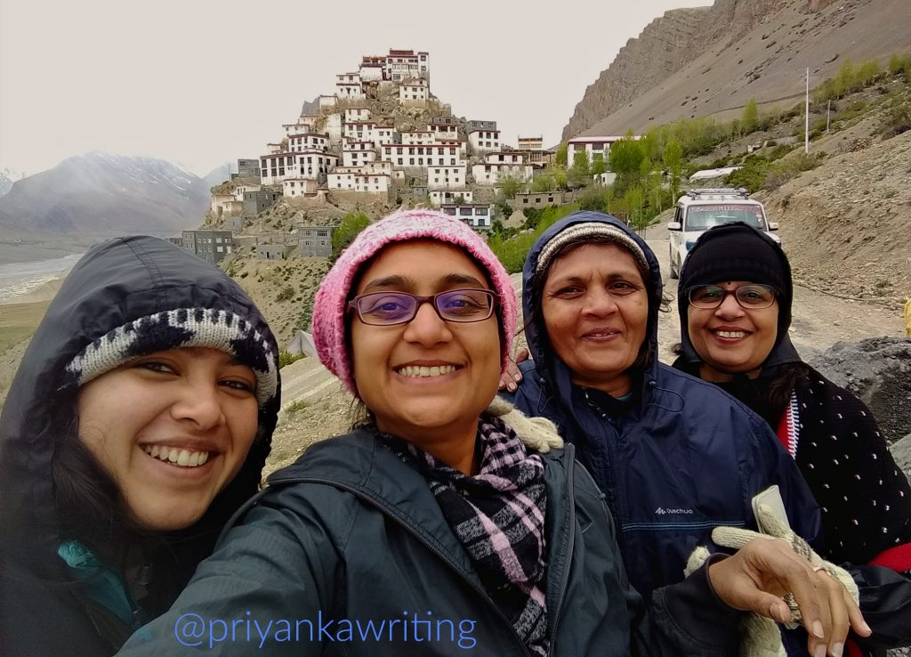 wandering in the himalayas - key monastery, spiti