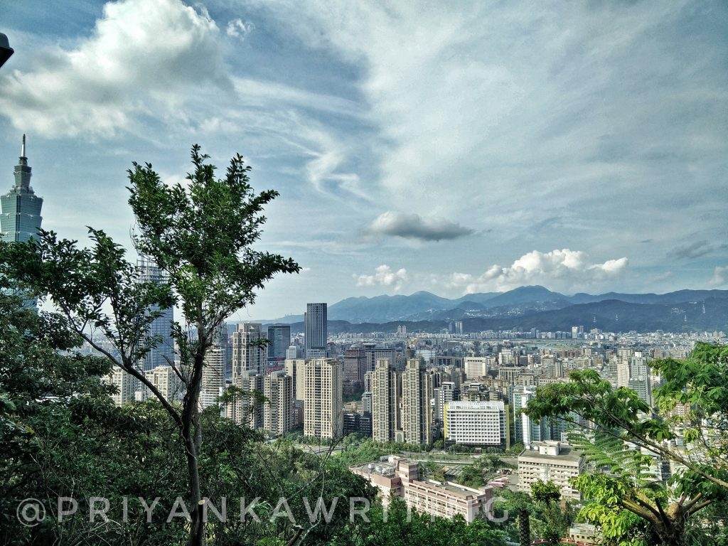 Solo hiking safety : Elephant Trail in Taipei
